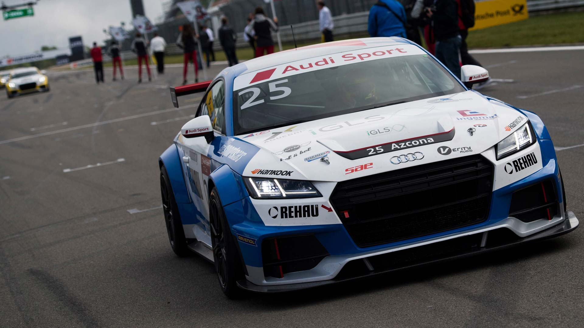 Verity Audio & Mikel Azcona take the lead in the Audi Sport TT Cup