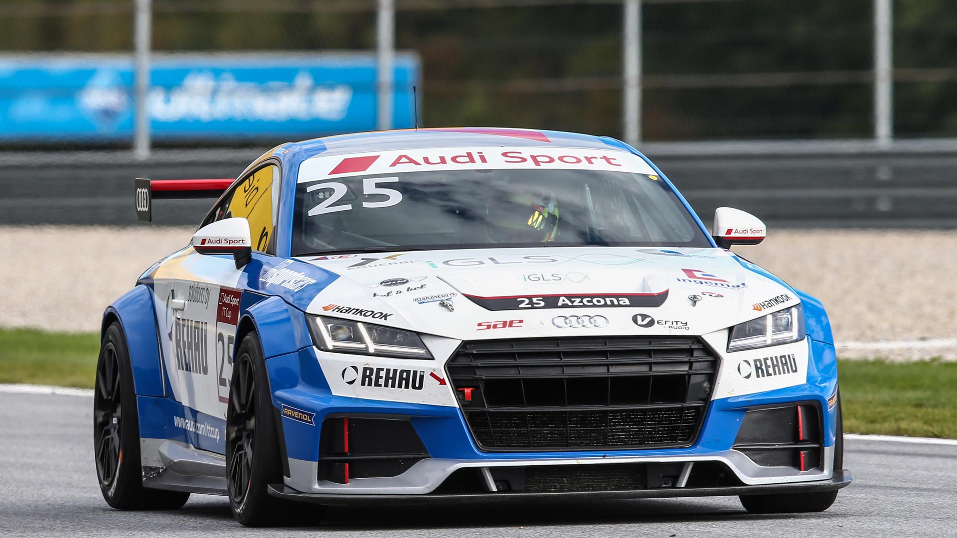 The sixth round of the Audi Sport TT Cup